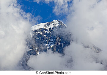Jungfrau region - Eiger mountain in the Jungfrau region