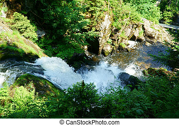 Triberg Waterfalls in the Black Forest, Germany-19 - A...