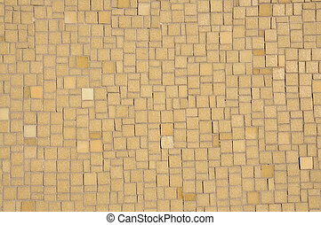 Brown Mosaic Background