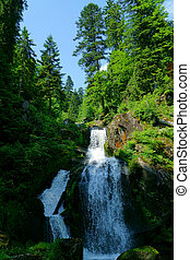 Triberg Waterfalls in the Black Forest, Germany-6 - A...