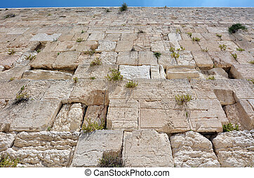 Western Wall in Jerusalem Israel - The Western Wall of the...