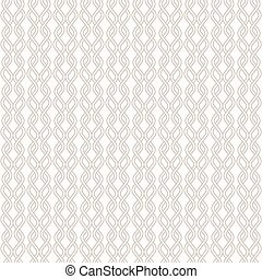 Tangled Knitted Pattern - Abstract line background - Tangled...
