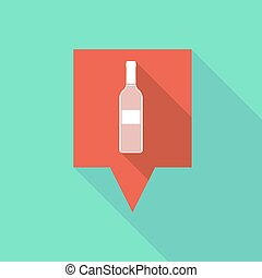 Tooltip icon with a bottle
