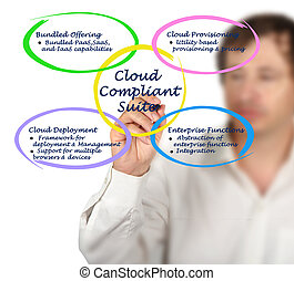 Diagram of Cloud Compliant Suite