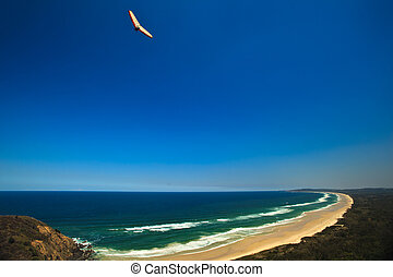 Beach Hang Glider at Byron Bay - Byron Bay Hang Glider