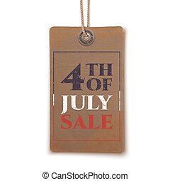 Fourth of July sale.