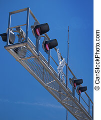 Overhead Rail Crossing - New overhead railroad crossing...