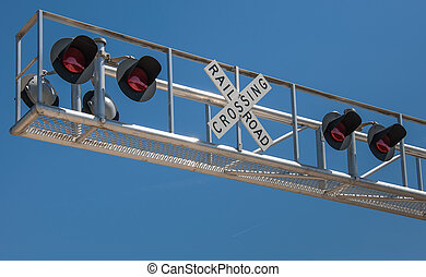 Overhead Rail Crossing - New overhead railroad crossing...