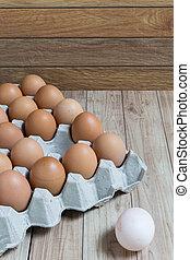 布朗, 概念, 組, 杰出, 領導, 蛋,  :, 蛋, 白色