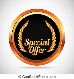 special offer design, vector illustration eps10 graphic