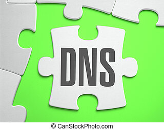 DNS - Jigsaw Puzzle with Missing Pieces - DNS - Domain Name...