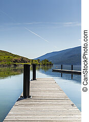 Dock on Mountain Lake