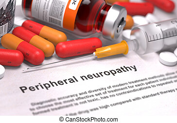 Peripheral Neuropathy Diagnosis Medical Concept - Peripheral...