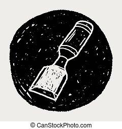 Chisel doodle