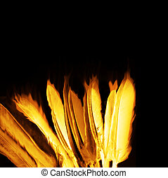 fire feathers