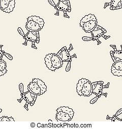 caveman doodle
