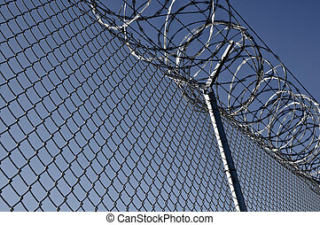 Prison Security Fence - Security Fence used at a Prison...