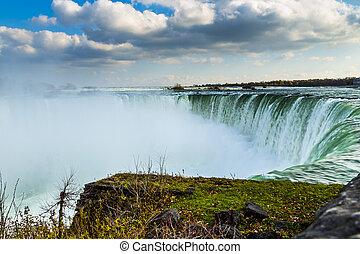 Scenic Niagara Falls, Ontario, Canada