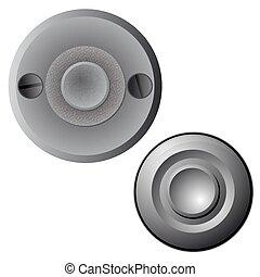 doorbell - Vector illustration of the doorbells
