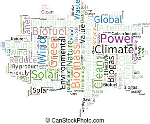 eco4 21eps - Ecology Earth concept word collage...