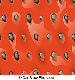 Watermelon pulp seamless, vector pattern for your de