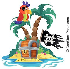 Small pirate island theme 1