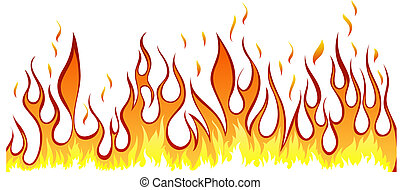 tongues fire clipart vector and illustration 645 tongues