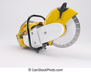 Cut off Saw - 3D Render of a cutoff saw