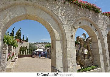 City of David in Jerusalem - Israel - JERUSALEM - MAY 05...