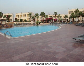 The pool - Travel, Egypt, the month of May nature and...