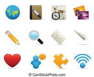 Media Icon Set - Communication Icon Set
