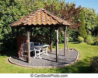 Beautiful home garden gazebo pavilion