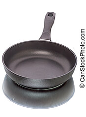 Heavy pan with non-stick coating - Heavy Frying pan with...