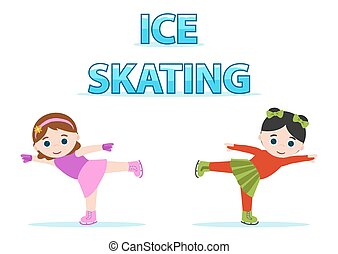ice skating girls