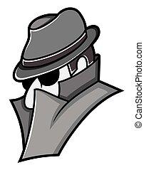Spy vector icon
