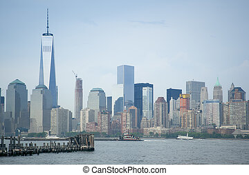 New York - An image of the high rise buildings of new york