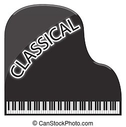 Classical Grand Piano - A classical grand piano design...