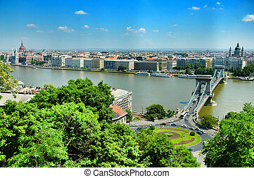 Budapest city, Hungary, East Europe .