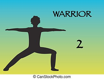 Yoga Man Warrior 2