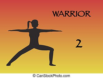 Yoga Woman Warrior 2