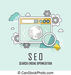 SEO website searching engine optimization process