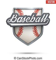 Premium symbol of Baseball label - Premium symbol of...