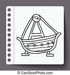 amusement park doodle