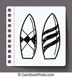 Doodle Surf board