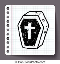 Coffin doodle