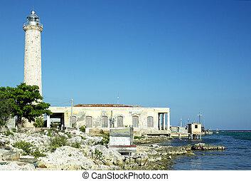 lighthouse, Cabo Cruz, Parque Nacional Desembarco del...