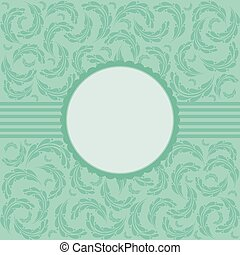 Vector elegant vintage background.