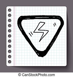 High-voltage doodle