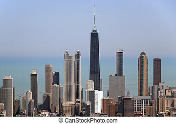 Chicago, Illinois - John Hancock Tower, Chicago