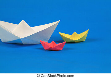 紙, 小船